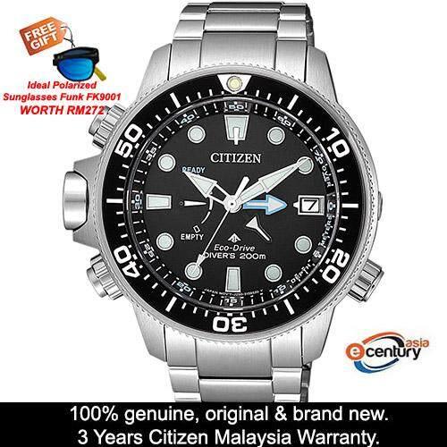 (Free Gift) citizen_citizen_ Bn2031-85E Mens Promaster Marine Eco-Drive Divers 200M Watch Malaysia