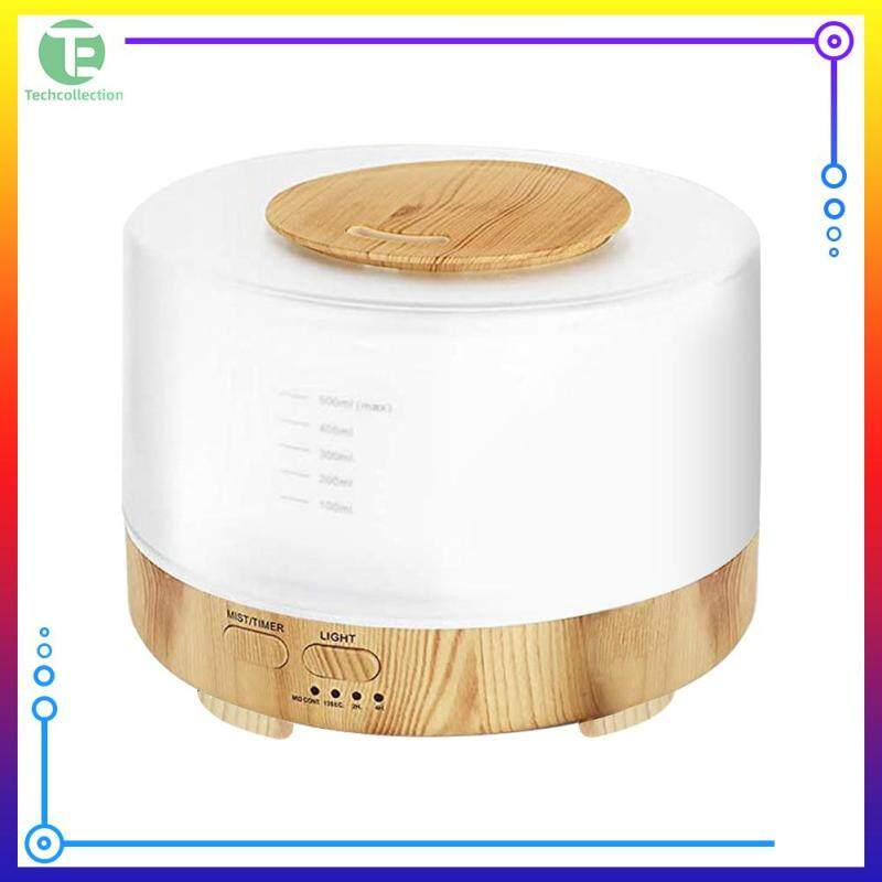 Air Humidifier Electric Wood Grain Aromatherapy Aroma Diffuser Mist Maker Refresher Humidification Singapore