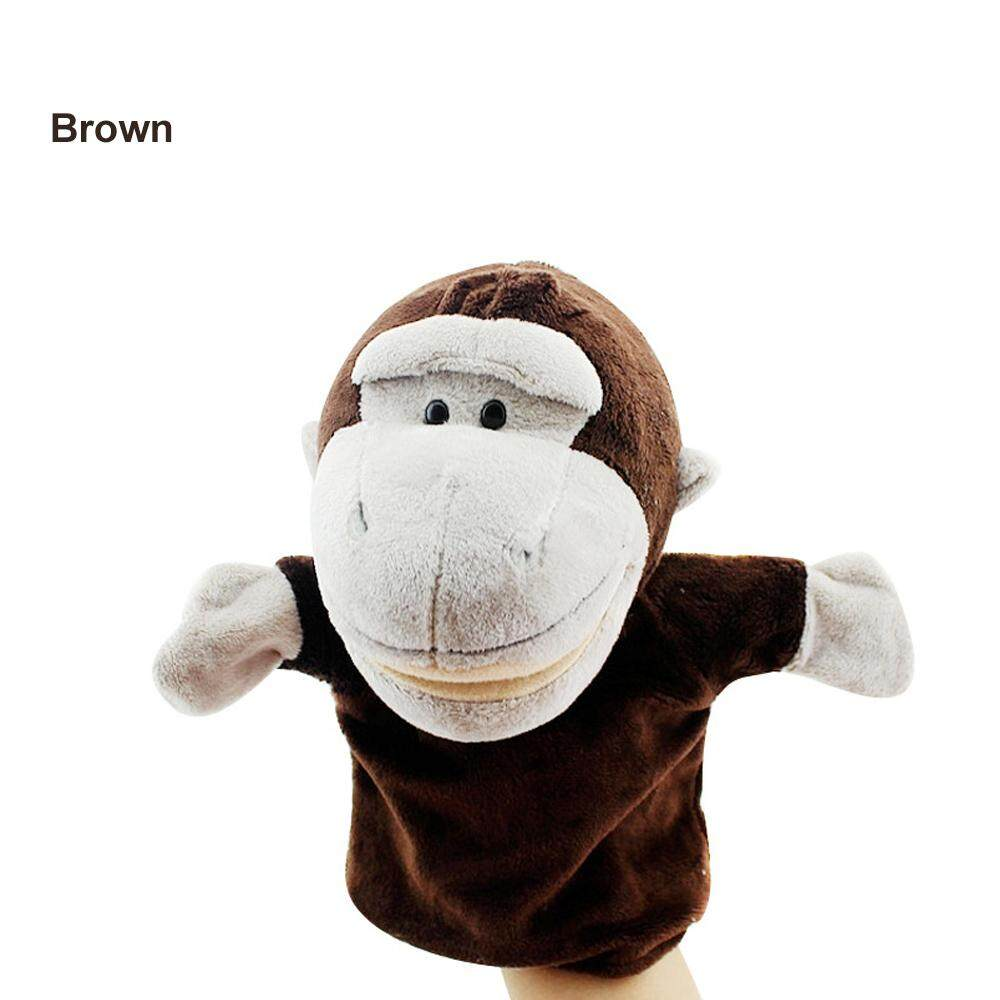 Lion  Classic Cute Monkey Hand Puppet Dog Kawaii Puppet Animal Toy Puppet