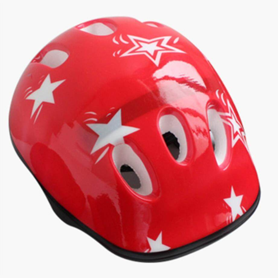 Outdoor Sepeda Gunung Bersepeda Pelat Seluncur Anak Helm Anak-Anak Pakaian Pelindung Bantalan Keselamatan Pelindung Set By Yimin Store.