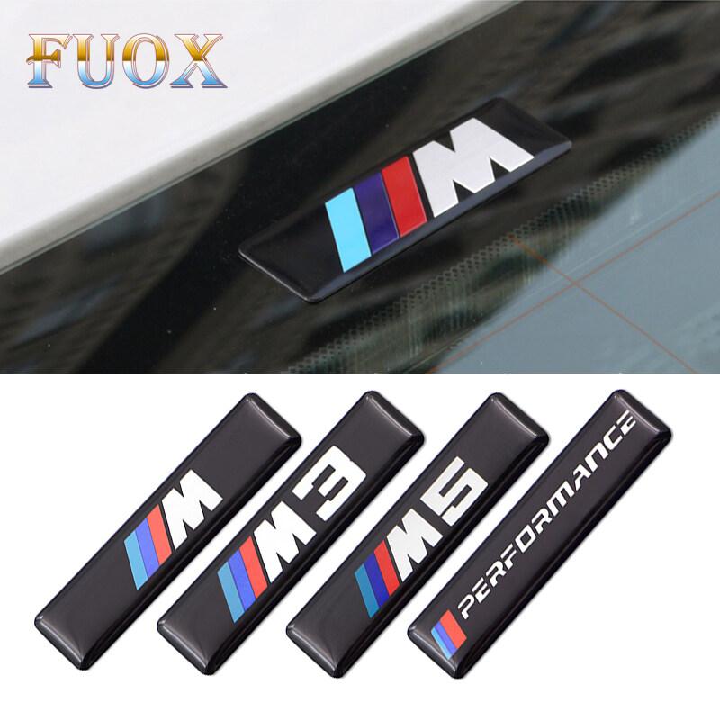 2 Miếng Dán Silicon M3 M5 Performance Badge Dán Nhãn Vô Lăng Xe Hơi Cho Phụ Kiện Xe Hơi Bmw M M3 M5 E46 E90 E60 E39 E36 E87 E92 E30 E91 E34