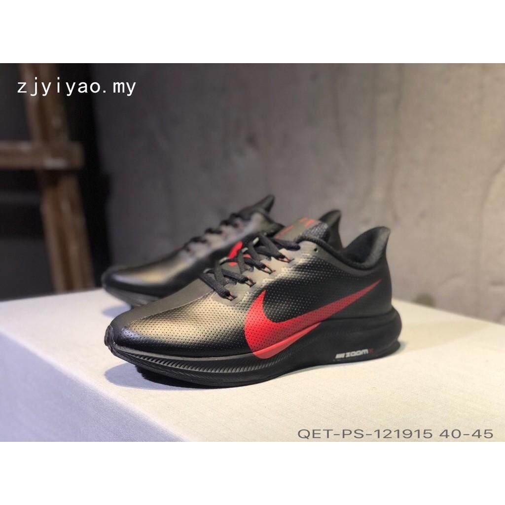 Nike Zoom Pegasus 35 Turbo Nyaman Pria Olahraga Sepatu Lari Kulit