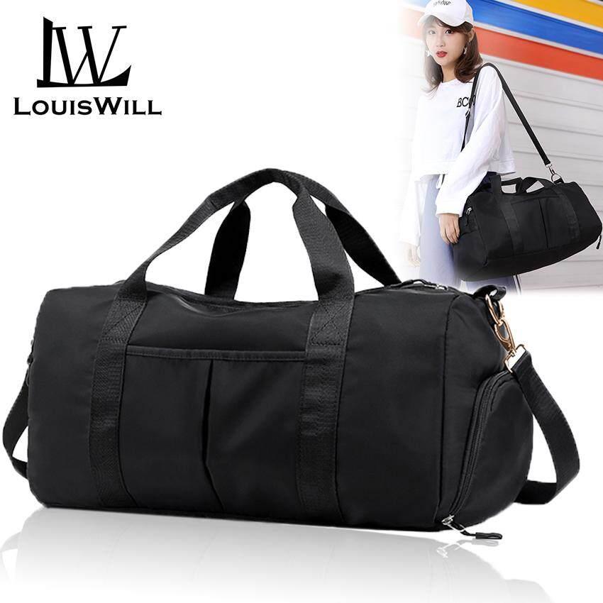 0b3e02cef574 LouisWill Women Travel Bag Waterproof Weekender Bags Oxford Cloth Luggages  Handbag Shoulder Bag Traveling Bag Dry and Wet Separation Sport Bag Fitness  ...