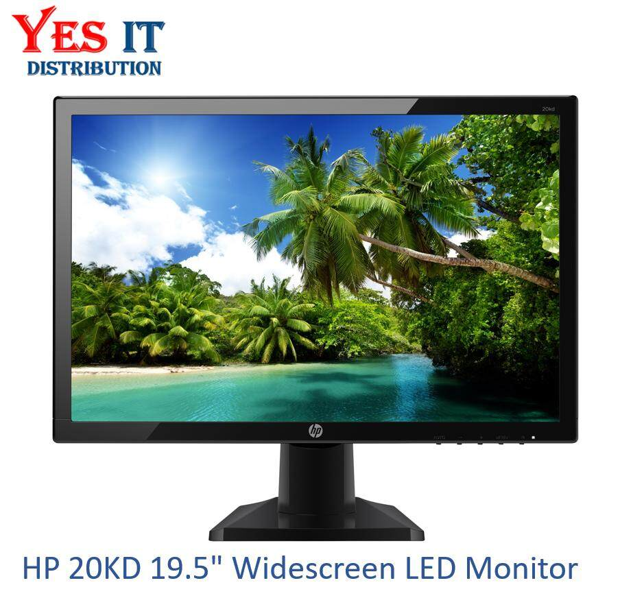 Hp 20kd 19.5 Widescreen Led Monitor By Yes It Distribution.