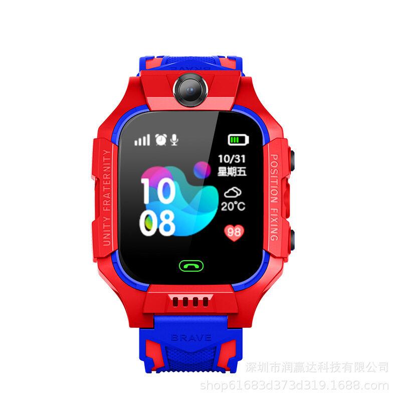 Nơi bán Chống Lạc LCD Trẻ Em Bộ Theo Dõi Lbs Thông Minh SOS Giám Sát Định Vị Điện Thoại Trẻ Em Lbs Đồng Hồ Em Bé Tương Thích IOS & Android
