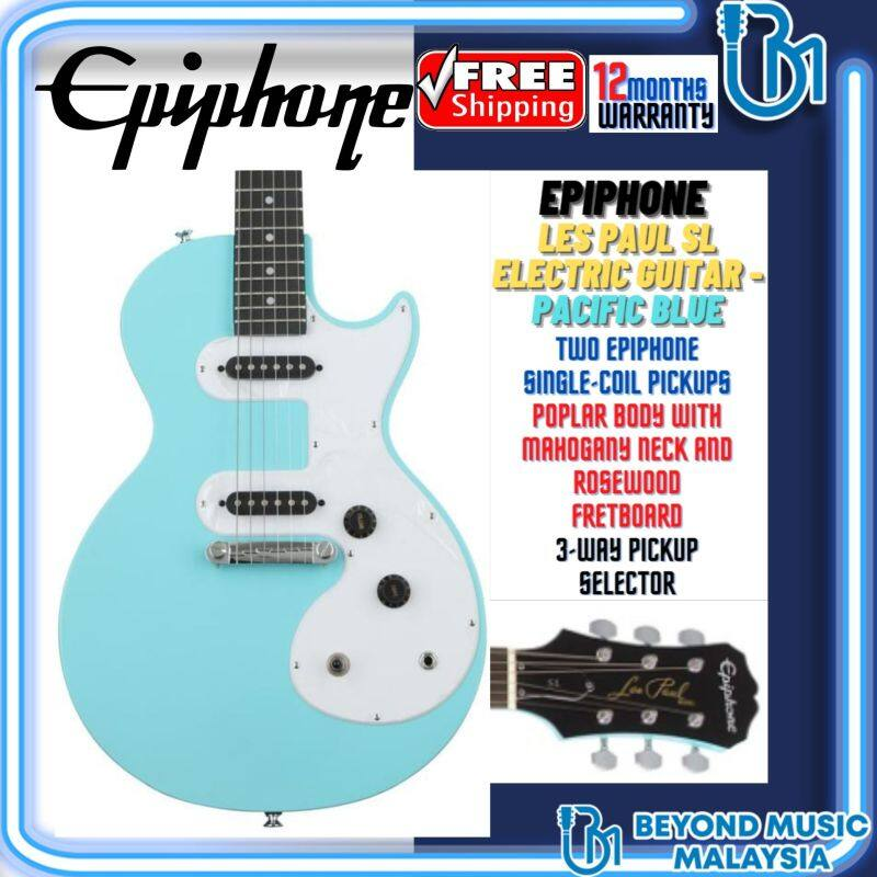 Epiphone Les Paul SL Electric Guitar - Pacific Blue Malaysia
