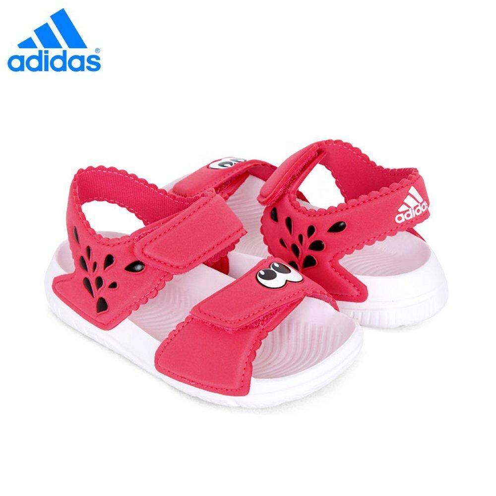 50066e466246d9 Adidas Baby Girl Neo AltaSwim CQ0050 Pink White Sandal