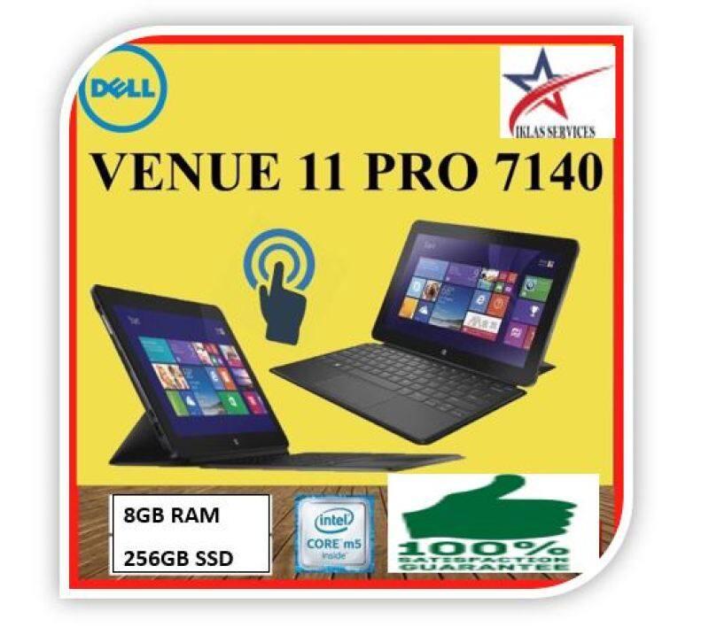 Dell Venue 11 Pro 7140 10.8 M-5Y71 1.20 Ghz 8GB 256GB SSD Windows 10 Pro/ TOUCH SCREEN Malaysia