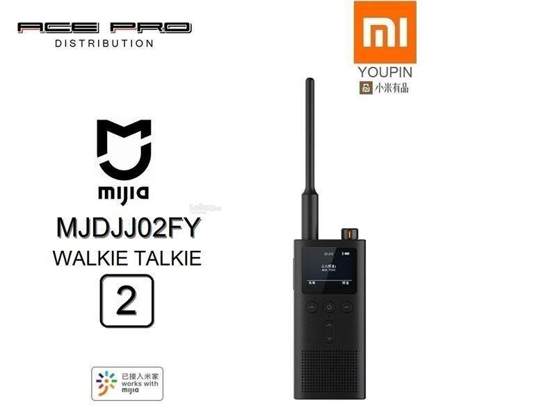 XIAOMI Mi MIJIA Walkie Talkie 2 - IP65 Interphone FM Bluetooth v2