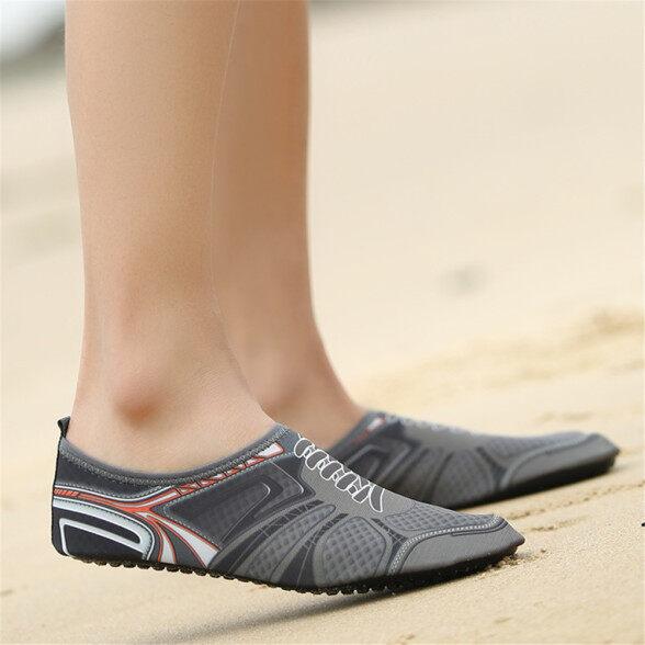 Giày nước da nam Giày lặn Vớ đi biển Trượt bơi hồ bơi yoga trên lướt sóng giá rẻ