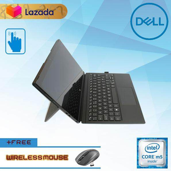 DELL LATITUDE 7275 SURFACE DETACHABLE LAPTOP FHD 12-INCH [6TH GEN CORE M5/ 8GB RAM/ 240GB SSD] LAPTOP [GRADE A REFURBISHED] Malaysia