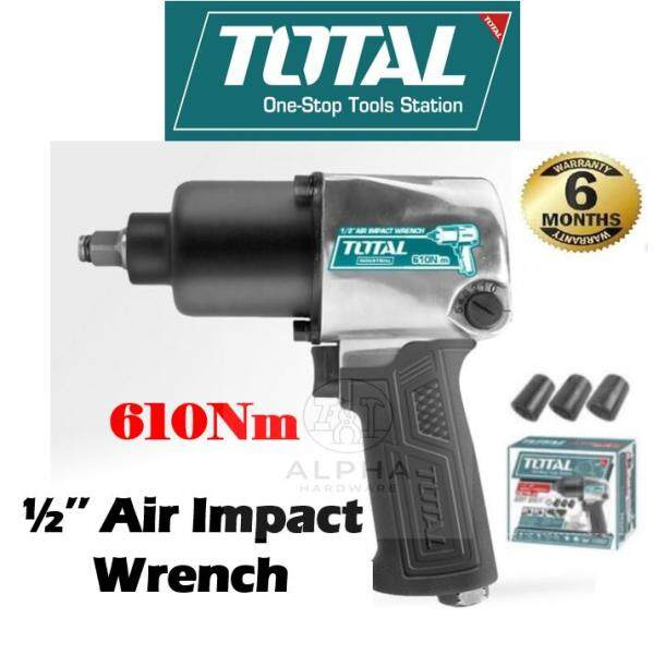 """Total Air Impact Wrench 1/2"""" Dr 610Nm Twin Hammer Heavy Duty TAT40122 Buka Tyre 风枪"""