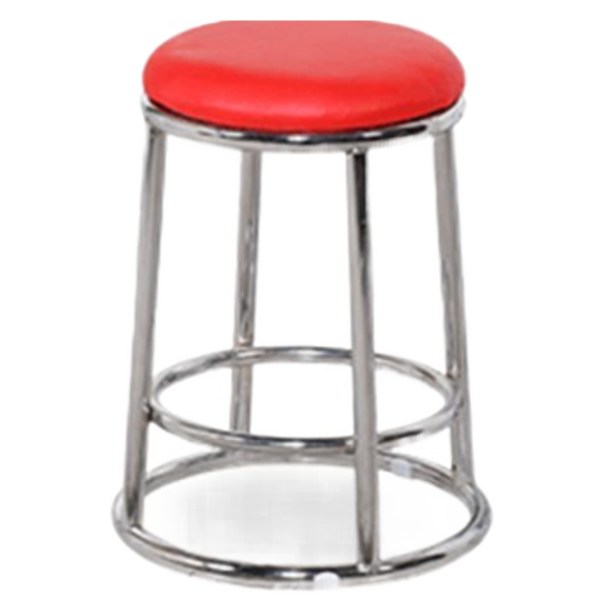 High bar stool three-ring stool stainless steel bar chair stool home round stool phone bar stool game stool