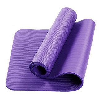 Miễn Phí Vận Chuyển Yoga Mat, Thảm Tập Thể Dục Dã Ngoại Ngoài Trời Siêu Dày 72X24, Có Mang Theo Dây Đeo thumbnail