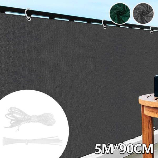 Balcony Protector Hdpe Polyethylene Balcony Privacy Screen Cover Windbreak Net Sunshade Fence Protector Weatherproof Balcony Privacy Screen Cover Protective Fence Panel Windproof Hdpe Polyethylene Weatherproof Balcony Privacy Fence
