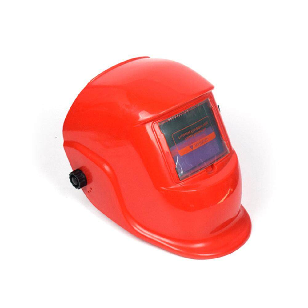 [JYA][COD][Freeshipping for Any 3 items]Solar Auto Darkening Helmet Adjustable Range Electric Welding Mask Cap