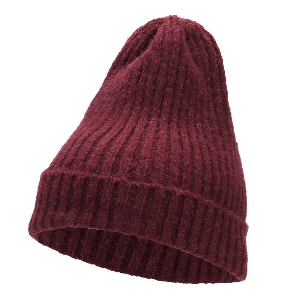 89c94aa6402 Sagestore Women Autumn Winter Beanie Hat Knitting Wool Warm Hats Earmuffs  Hat
