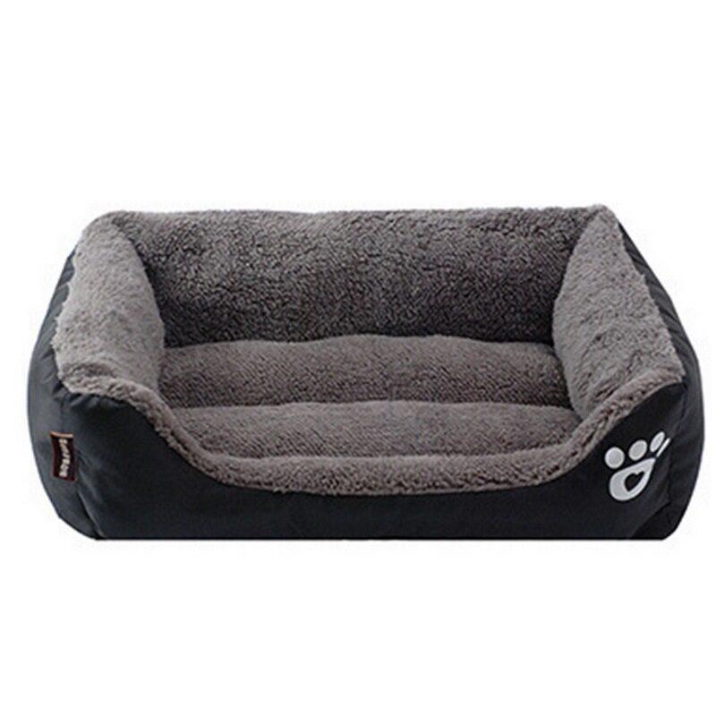 Giường Cho Chó Mèo Nhỏ Chó Con Giường Bông Mềm Động Vật Lớn Nhà Mat Pad Mèo Thỏ Sofa Cuddler Cũi