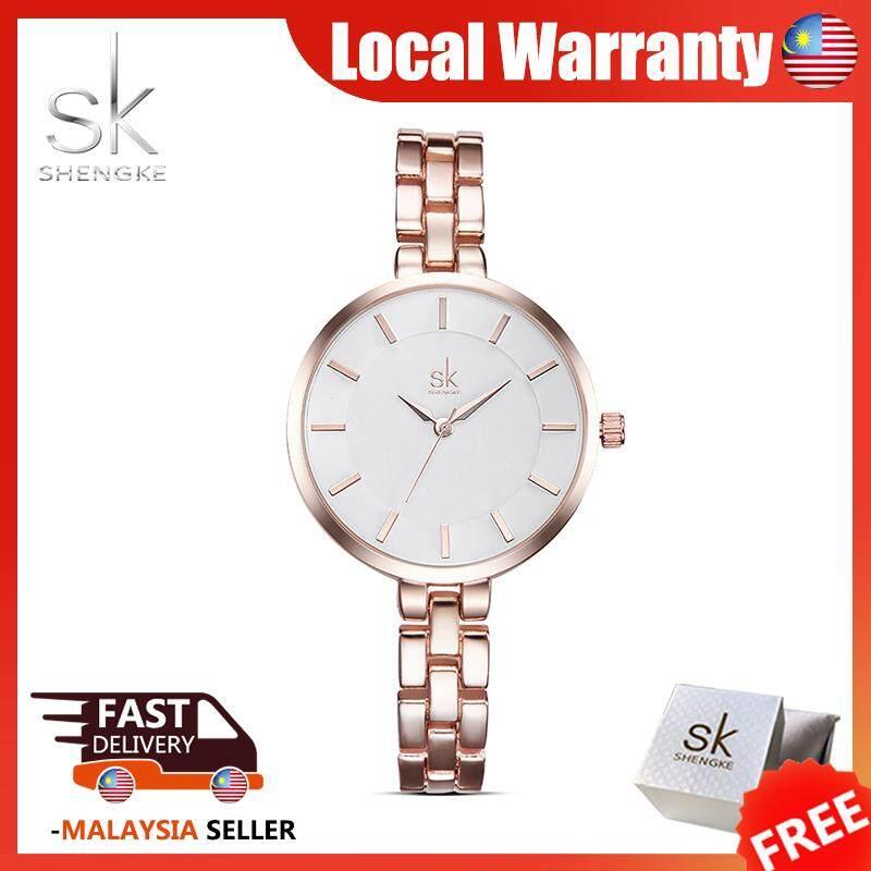 SK Fashion Watch for Women Luxury Casual Waterproof Classic Mesh Belt Stainless Steal Strap Girl Ladies Quartz Wrist Watches Jam Tangan Wanite Malaysia