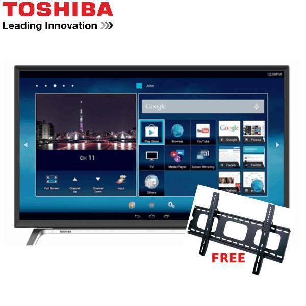 "Toshiba 55 "" 4K SMART LED TV 55U4750VM (FREE BRACKET & CABLE HDMI)"