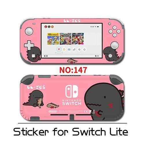 ไวนิลป้องกันสติกเกอร์ตกแต่งผิวสำหรับ Nintendo SWITCH Lite