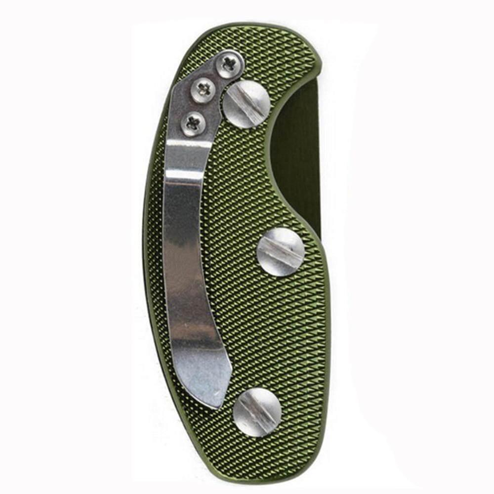 Hotilystore Aluminum Key Holder Organizer Clip Folder Keyring Keychain Case Pocket Tool
