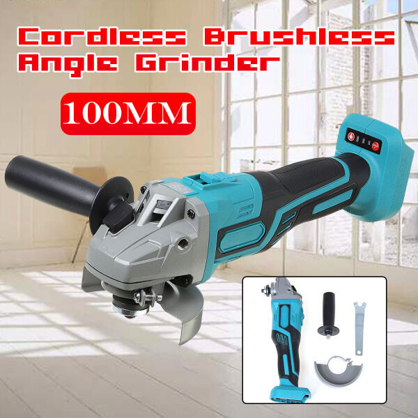 Cordless Brushless Angle Grinder for Makita DGA504Z 18V Battery