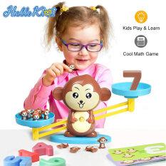 HelloKimi Toán học Libra đồ chơi trẻ em Balance Math Game Counting Toy Balance Counting ToysSTEM Toy
