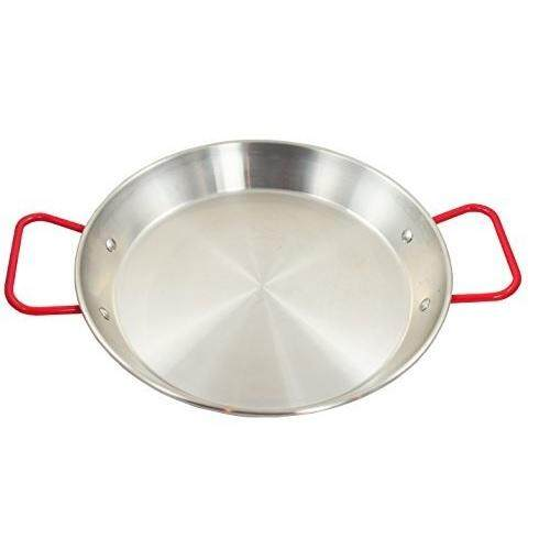 Stainless Steel Paella Pan with Handle -(8''/9''/11''/12.5'')