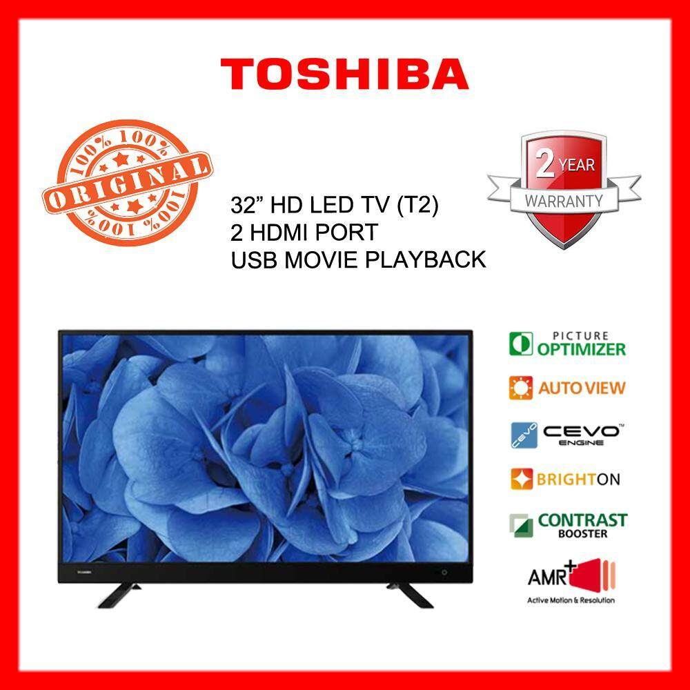 toshiba 32L3750 32 led tv, digital tuner, 100% new set