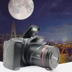 Máy ảnh kỹ thuật số XJ05 SLR 4X màn hình LCD 2.4 inch máy ảnh màu đen sang trọng độ phân giải 3MP-12MP – INTL