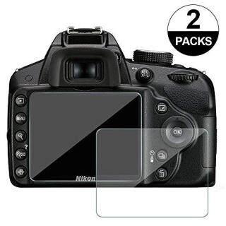 Awinner 2 Miếng Phim Bảo Vệ LCD Nikon D3100 D3200 D3300 D3400 Camera Hành Động Chuyên Dụng Bảo Vệ Màn Hình LCD thumbnail
