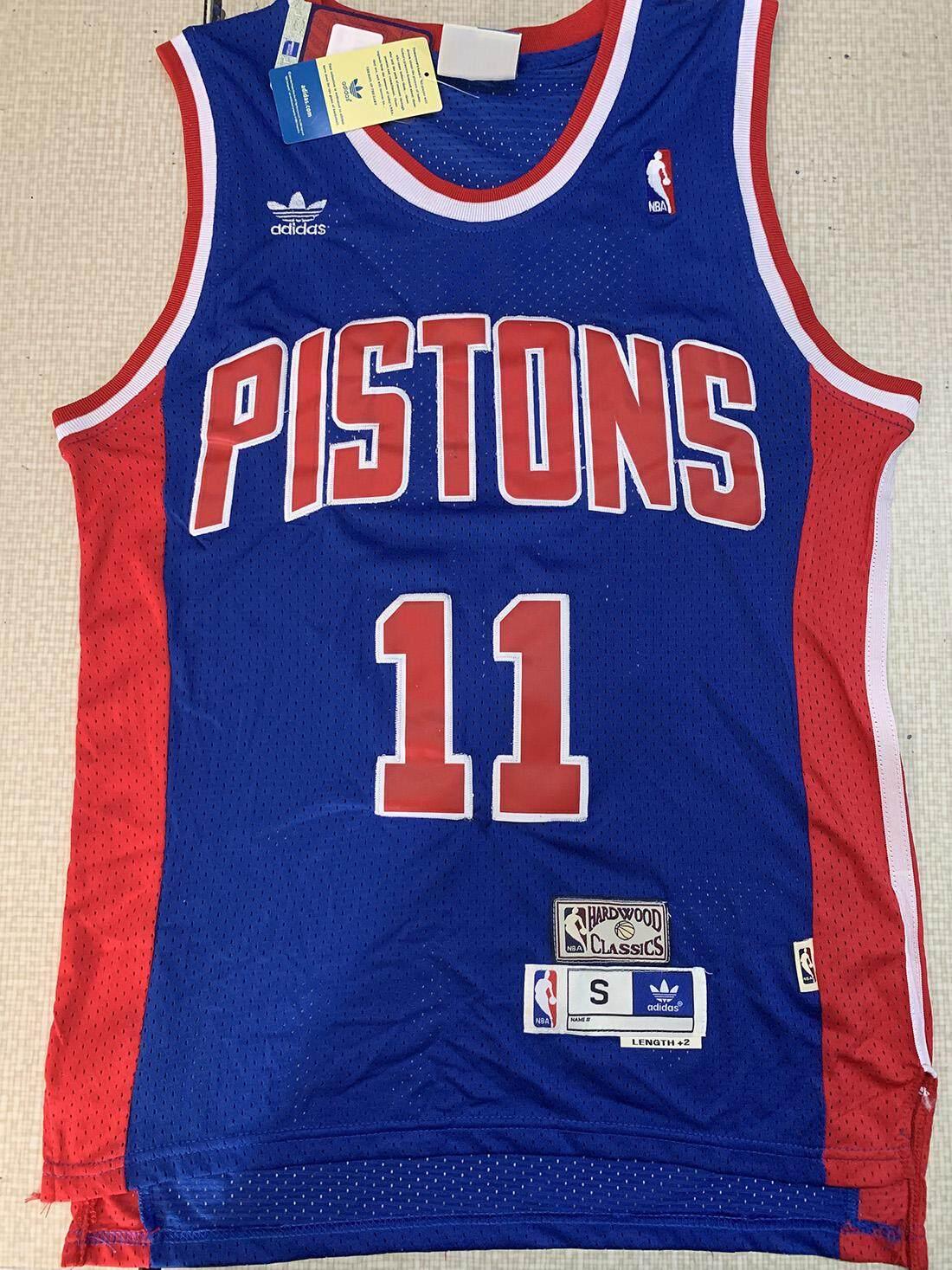 size 40 6ca98 a4cc2 Isiah Thomas & Grant Hill Detroit Pistons Mens Classics Swingman Jersey -  Blue