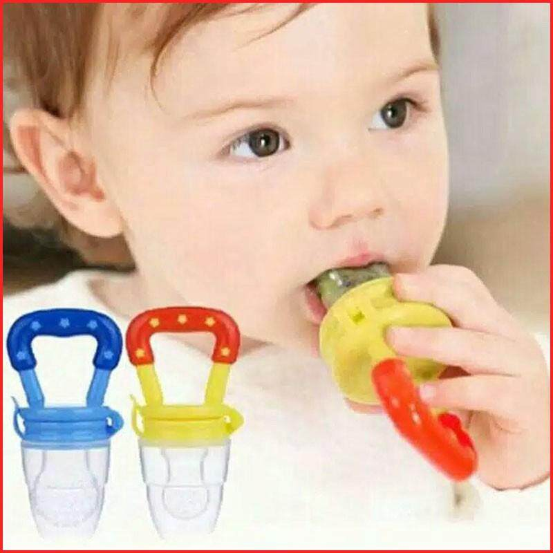 【Spot】Baby Food Supplement Fruit Vegetable Feeder Bite Pacifier Suitable for 3-12 Months Baby image on snachetto.com