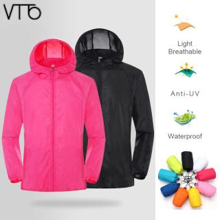 Áo Mưa Chống Tia UV Chống Nước VTTO Du Lịch Nhanh Khô Cắm Trại Ngoài Trời thumbnail
