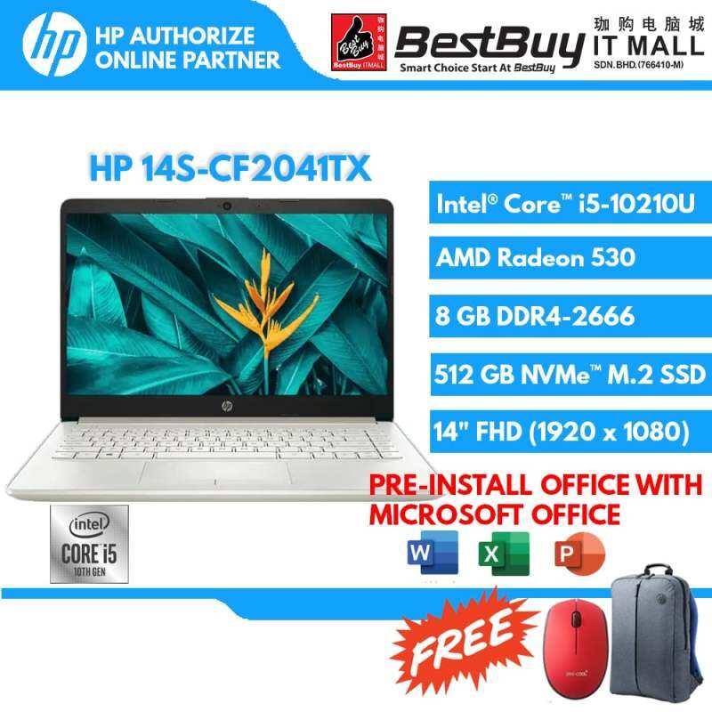 HP 14S-CF2040TX (NSV) / 14S-CF2041TX (PLG) (I5-10210U/8GB/512GB/W10HSL/14FHD) Malaysia