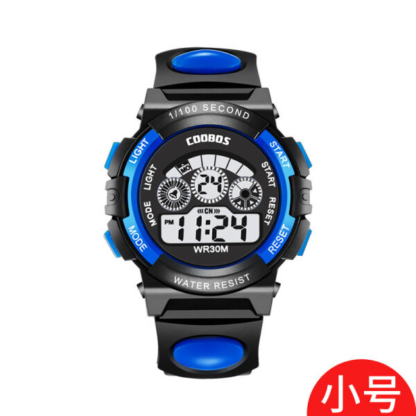 Cool Boss Childrens Watch Multifunctional Colorful Light Waterproof Student Electronic Watch Spot 0119 Malaysia