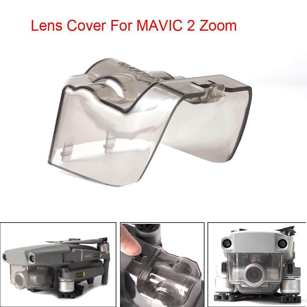 Vivimall Terintegrasi Perlindungan Penutup Kunci Kamera Tutup Lensa untuk DJI Mavic 2 Zoom