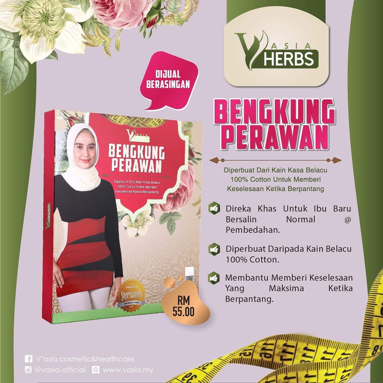 Bengkung Perawan Vasia Bengkung Pelekat Mudah Dipakai Lazada
