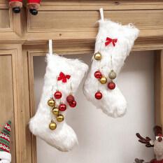MU Năm Mới Giáng Sinh Stocking Sack Xmas Quà Tặng Túi Kẹo Noel Sock Giáng Sinh Trang Trí