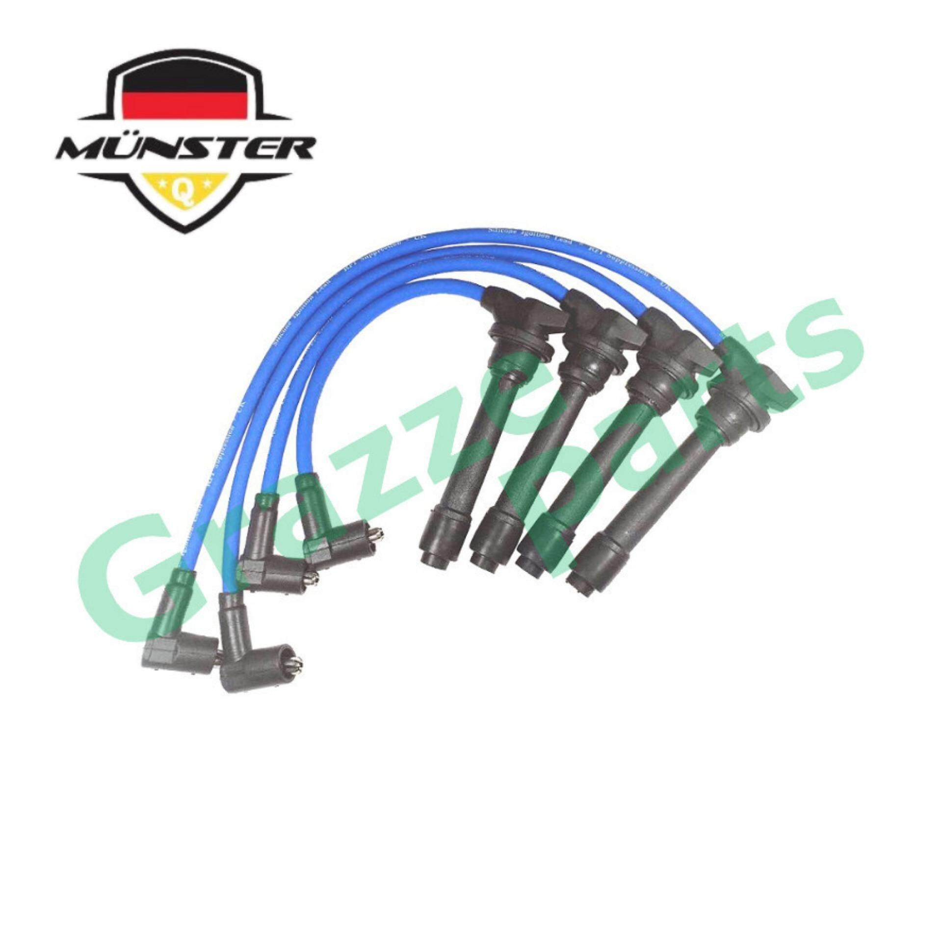 Münster Plug Cable 6033 for Hyundai Matrix 1 8 DOHC Year 2003