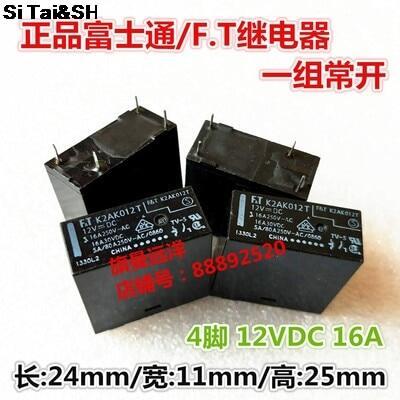 100% Ft K2ak012t Ftr-k2ak012t K2ak024t Ftr-k2ak024t Dip-4 16A 12VDC 24VDC Điện