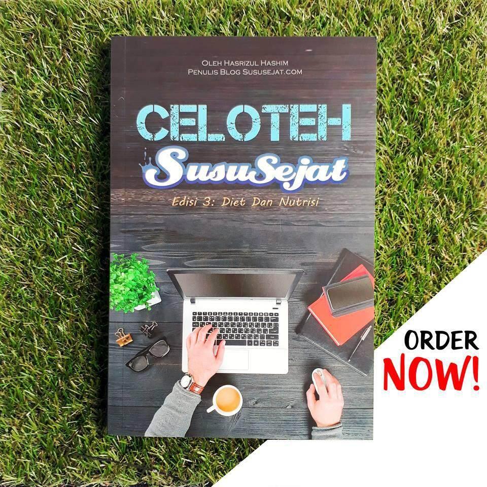 Buku Celoteh Susu Sejat (css) Edisi 3 (diet Dan Nutrisi) By Trisya Venture.