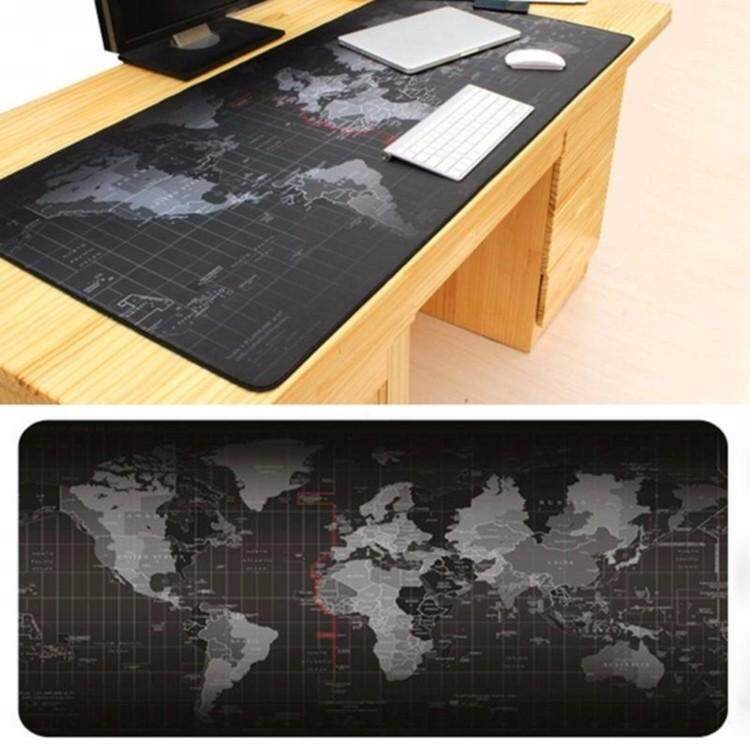 Big Size (70cm*30cm*0.2cm) Pro Gaming World Map Mouse Pad Mousepad for Dota LOL Malaysia