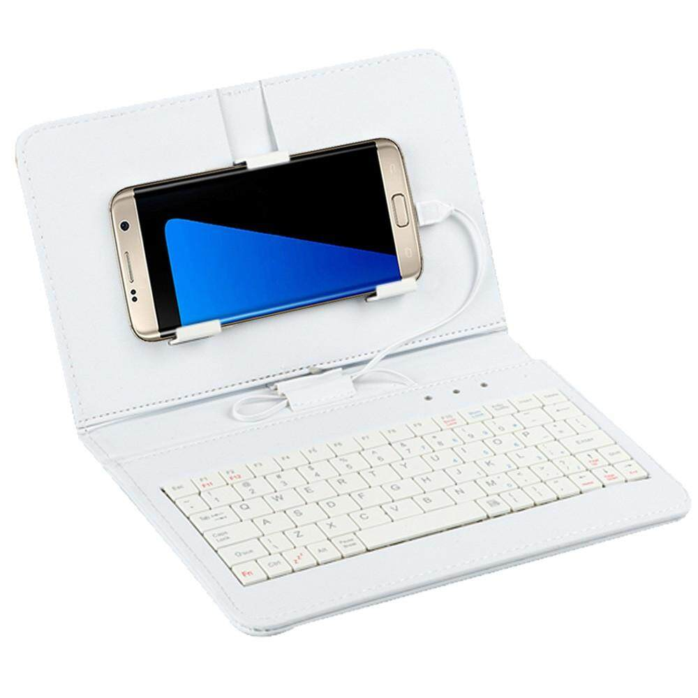 AD Hot General Wired Keyboard Flip Holster Case for Andriod Mobile Phone 4.8-6.0 Malaysia
