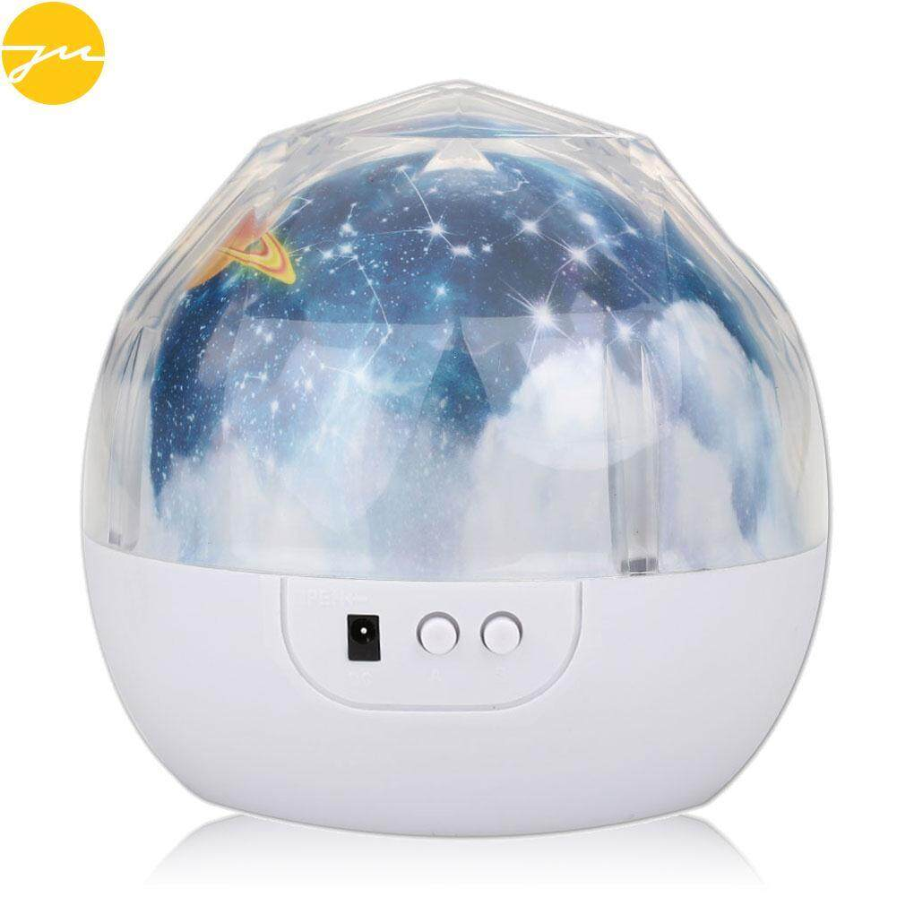 JMS Night Light LED Night Light Night Lamp Luminaria Novelty LED Projector Light Earth USB Planet Xmas Gift Party Christmas Household