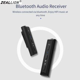 Zeallion Bộ Thu Bluetooth 4.2 Bộ Chuyển Đổi Kẹp Bút Tai Nghe Bộ Chuyển Đổi Nhạc Không Dây Rảnh Tay Dành Cho Tai Nghe Có Dây, Cho Điện Thoại Thông Minh thumbnail