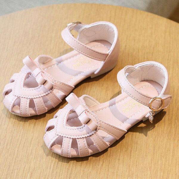 Giá bán Giày Công Chúa Bé Gái, Giày Cột Nơ, Màu Trơn, Quà Tặng Năm Mới