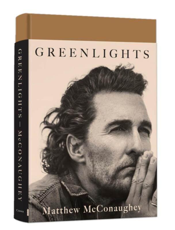 Booking Greenlights green Matthew McConaughey memoir, autobiography original English star through the actor Matthew McConaughey Oscar winner hardcover Malaysia