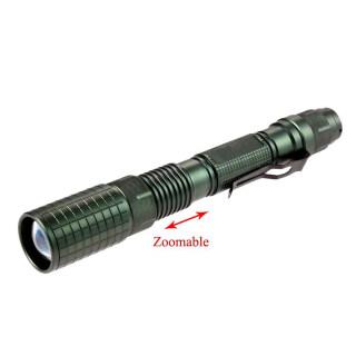 Đèn pin Led XM-L T6 60000LM pin 18650 thiết kế chống nước có thể thu phóng nho go n dê mang theo - INTL thumbnail
